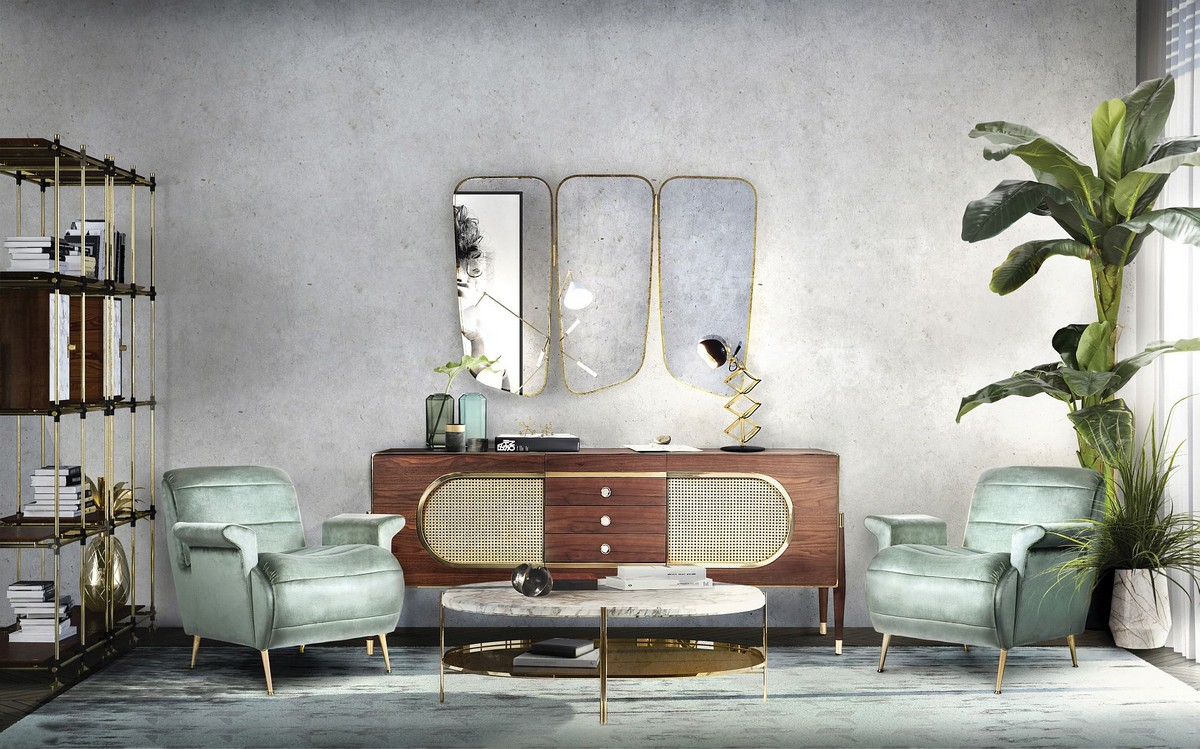 Covet House Maison et objet 1  Selection of Some Most Awaited Brands for Maison et Objet Midcentury modern living room decor from Essential Home