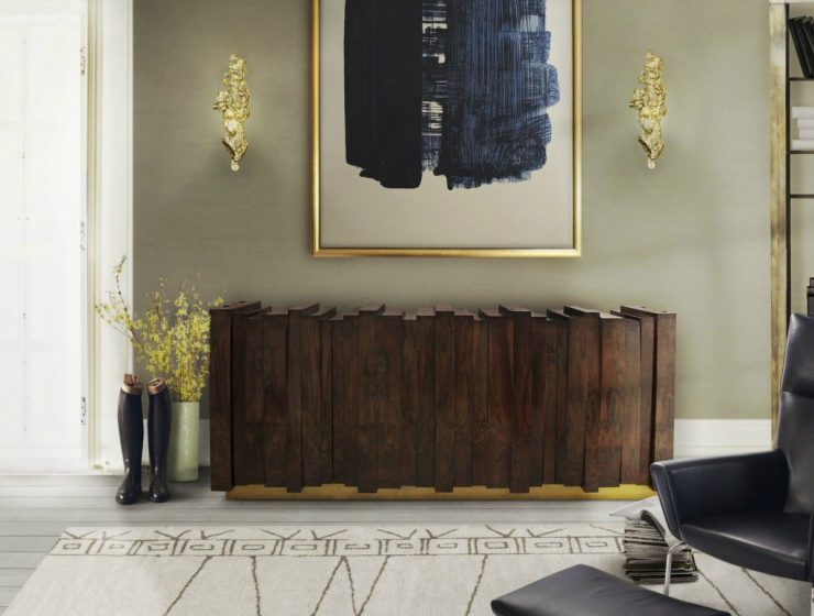 Luxury Wooden Sideboards Or How To Reinvent Your Living Room Decor