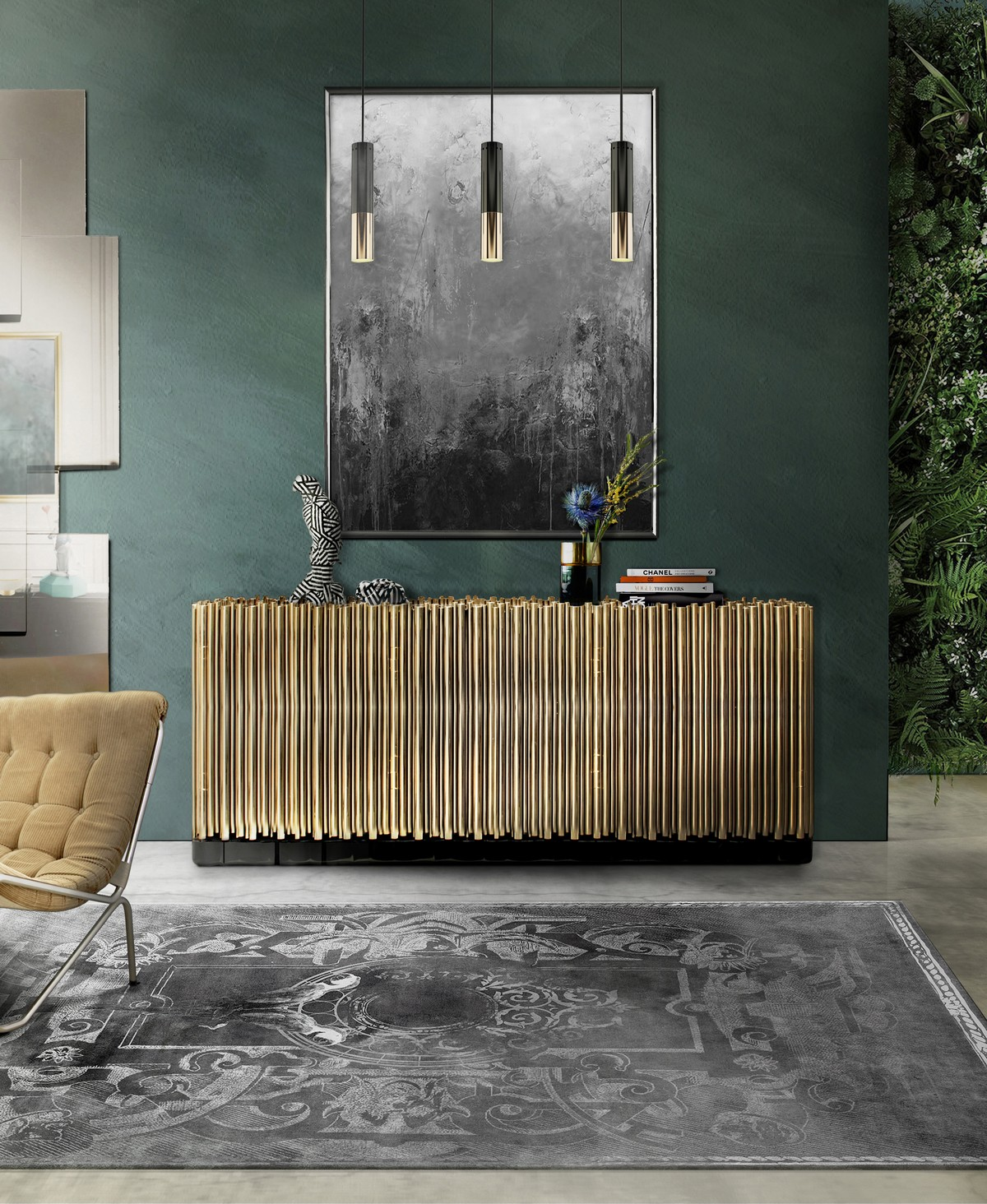 Inspiring Sideboard Ambiances You Will Love (Part III)