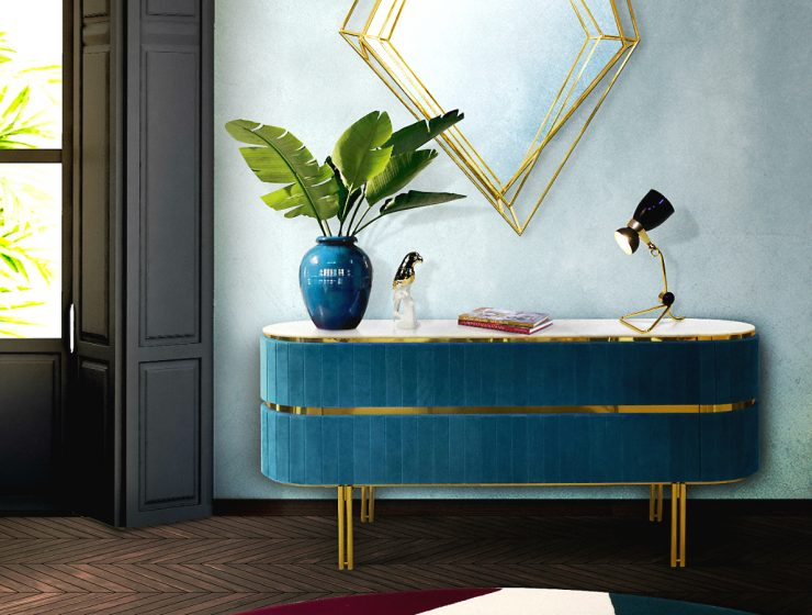 Let Us Show You The Unique Features of this Sideboard | If you're looking for a uniquesideboard with singular features we present to you the amazing creation by Essential Home. #sideboards #buffets #sideboarddesigns #interiordesign #homedecor