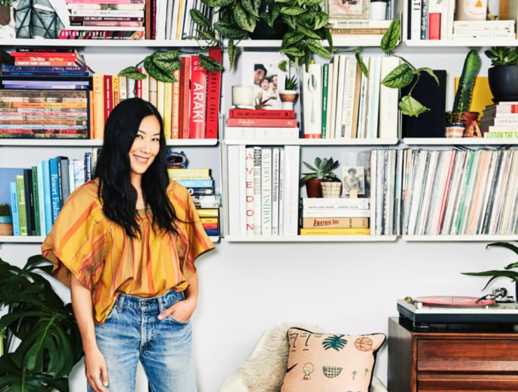 The Lead Designer of Madewell Showcases The Cool-Girl Design Look | All of the projects go back to basics by using the brand classic style. #interiordesign #homedecor #interiortrends #sideboards