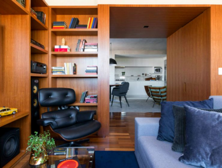 """Leandro Garcia Project Known as """"The Azul Apartment"""" in Brazil 