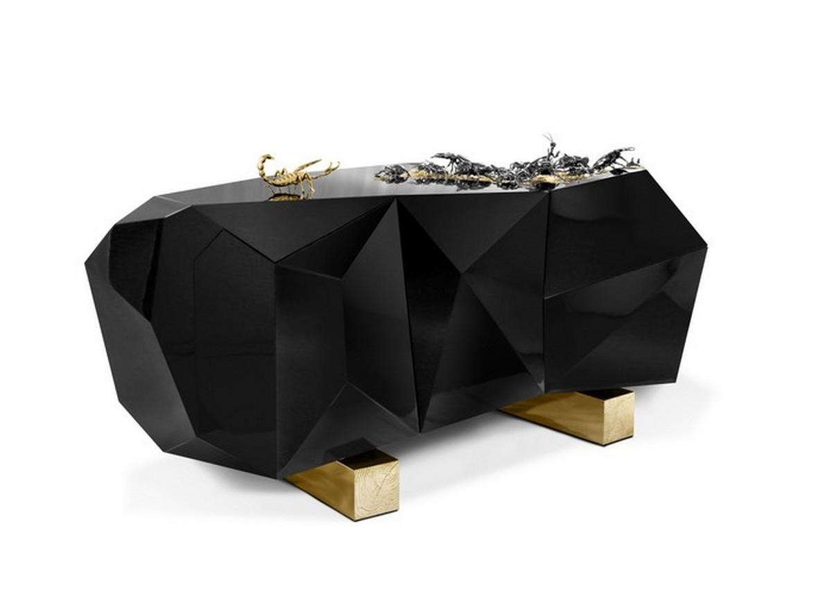Sideboards Never Got So Stylish: Meet Diamond Pyrite By Boca Do Lobo