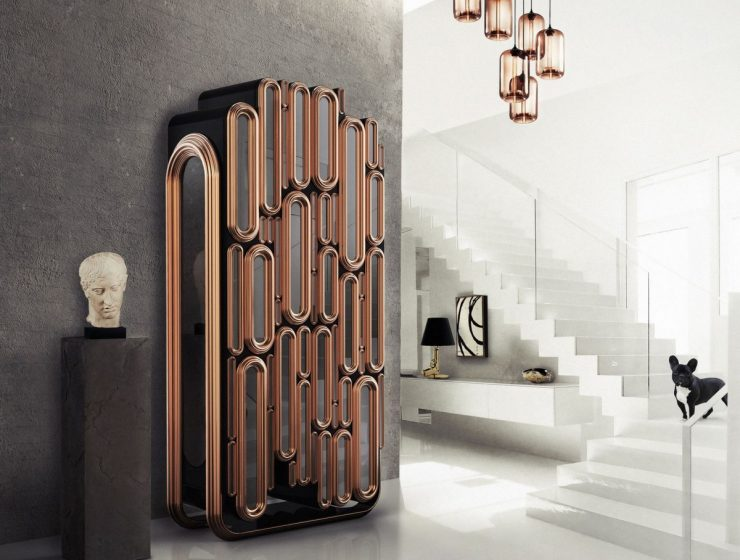 Modernistic Meets Classical: Oblong Cabinet By Boca Do Lobo