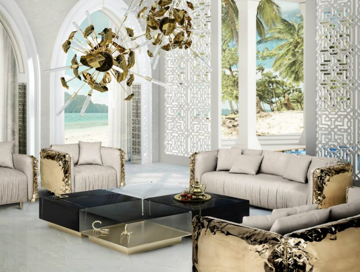 Top 5 Luxury Living Rooms: What Not To Love? | This room tends to be one of the most used parts of a home, so it's essential to have it decorated in the best way possible to receive your friends and family. #interiordesign #homedecor #livingroomdesign #livingroom