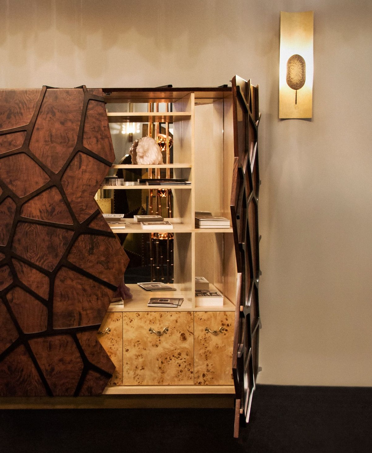 A Celestial Living Room On Earth: The Orion Cabinet by Brabbu
