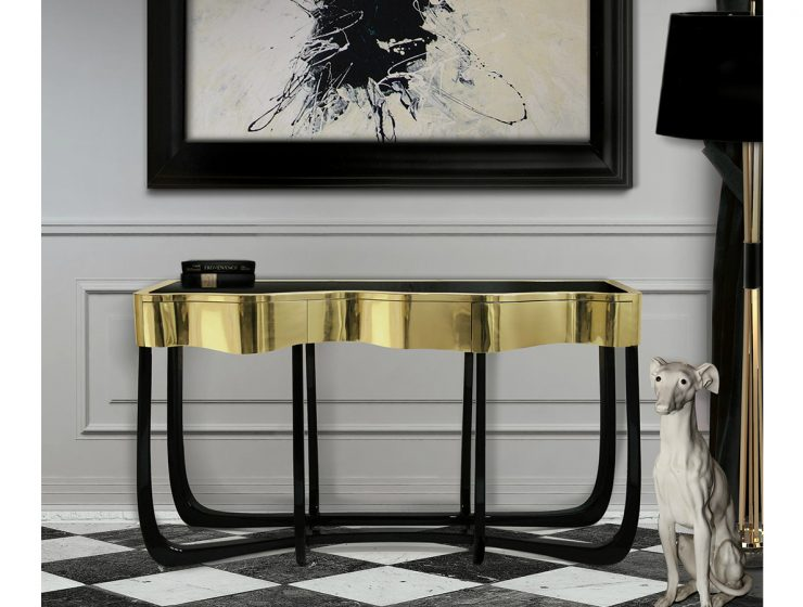 The Dance Of Luxury: Boca do Lobo's Sinuous Console