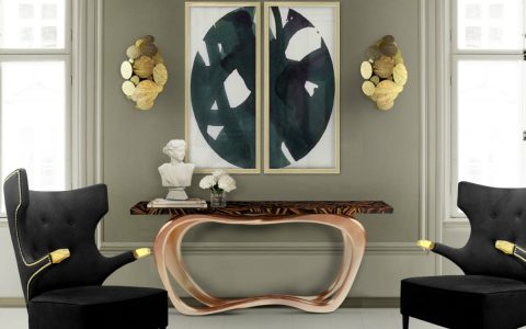 The Infinity Console: A Touch of Boldness To Your Living Room Decor
