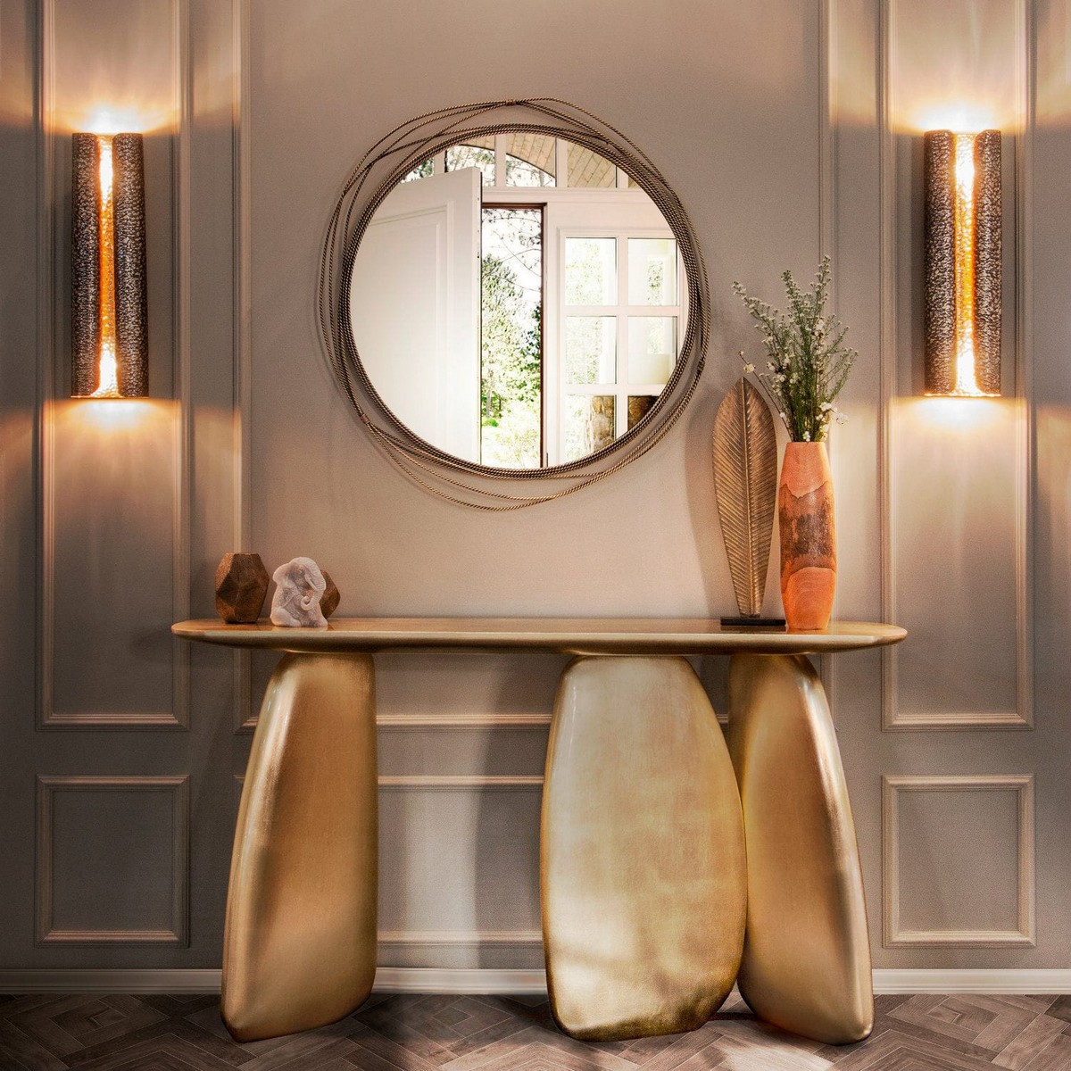 Top Luxury Console Tables For A Bold Entryway Sideboards Buffets