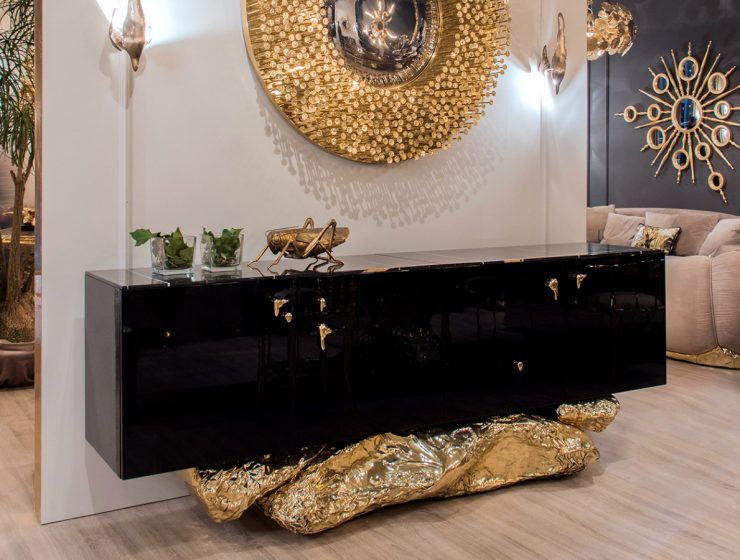 Angra Sideboard: A Fearless Design And A Glamorous Feeling Of Boldness
