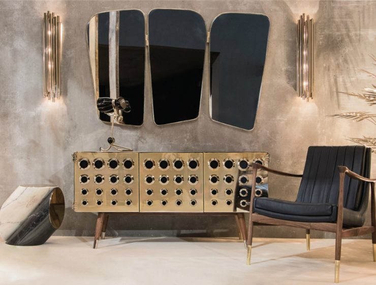 The Monocles Sideboard: A Mid-century Treasure at Decorex