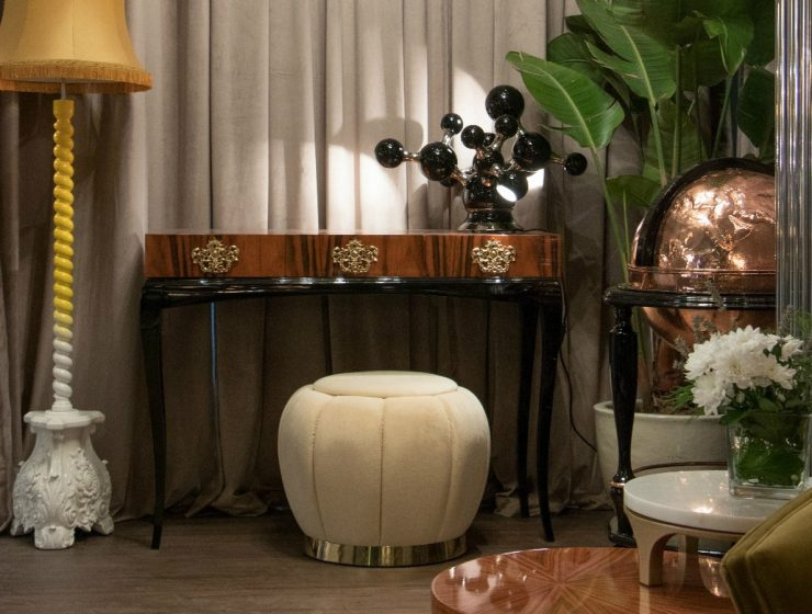 Victorian Console Tables with a Contemporary Vibe