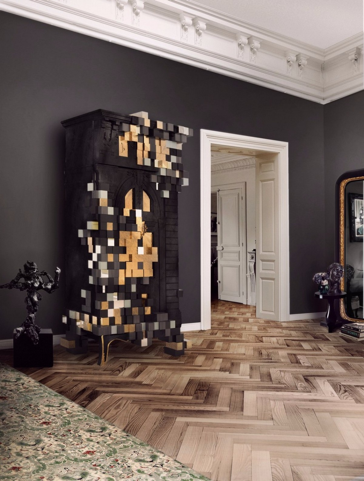 Artistic Living Room Cabinets
