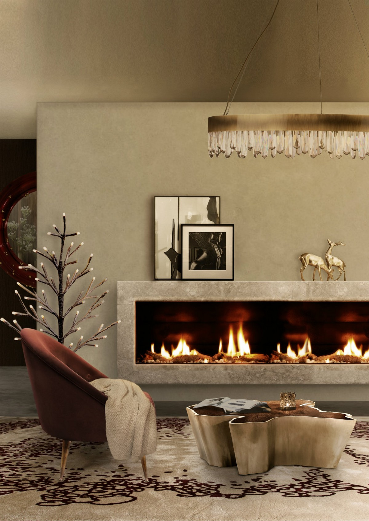 Christmas 2018: Living Room Ideas