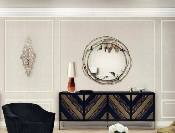Modern Mirrors To Match Your Living Room Sideboard (Part II)