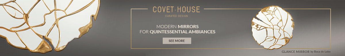 Maison et Objet 2019 Maison et Objet 2019: Luxury Mirror Designs by Covet House glance mirror artigo