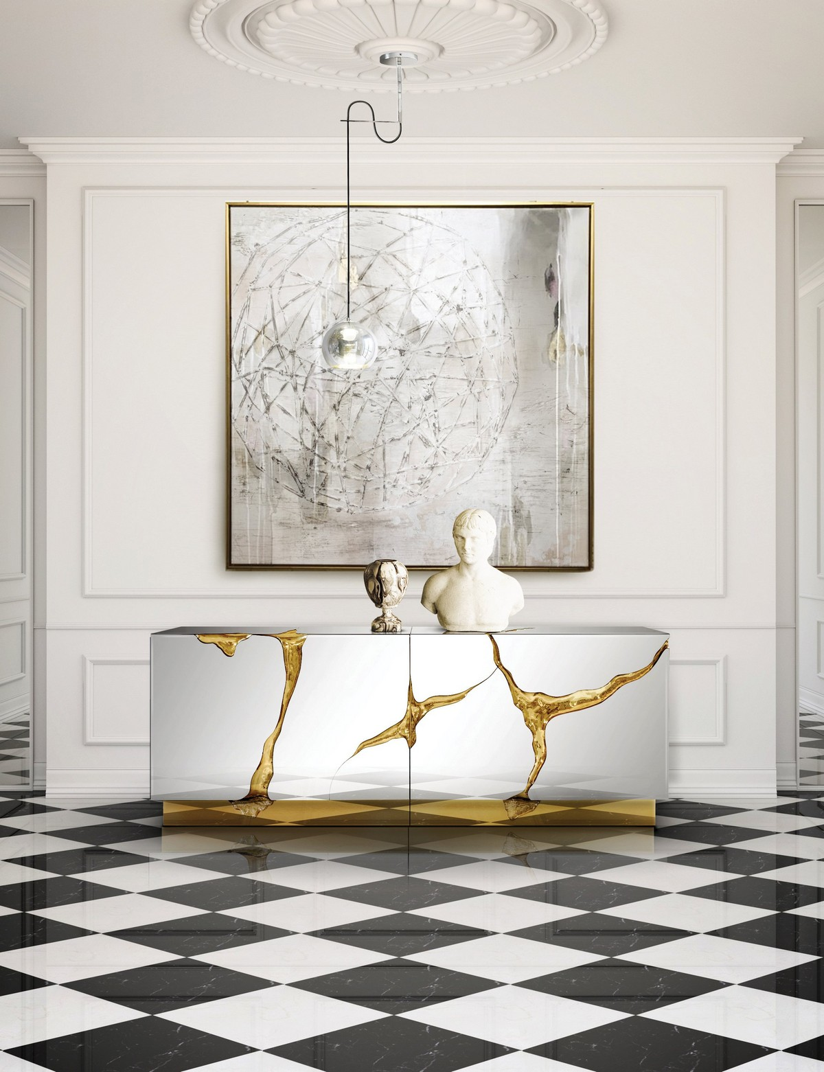 Artistic Sideboards For a Timeless Living Room