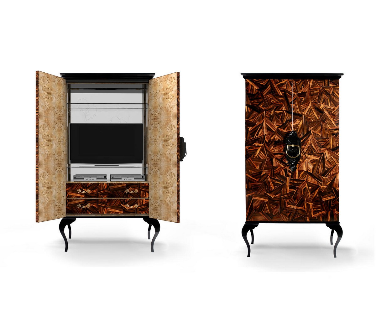 Exclusive Cabinets: When Classic Meets Contemporary