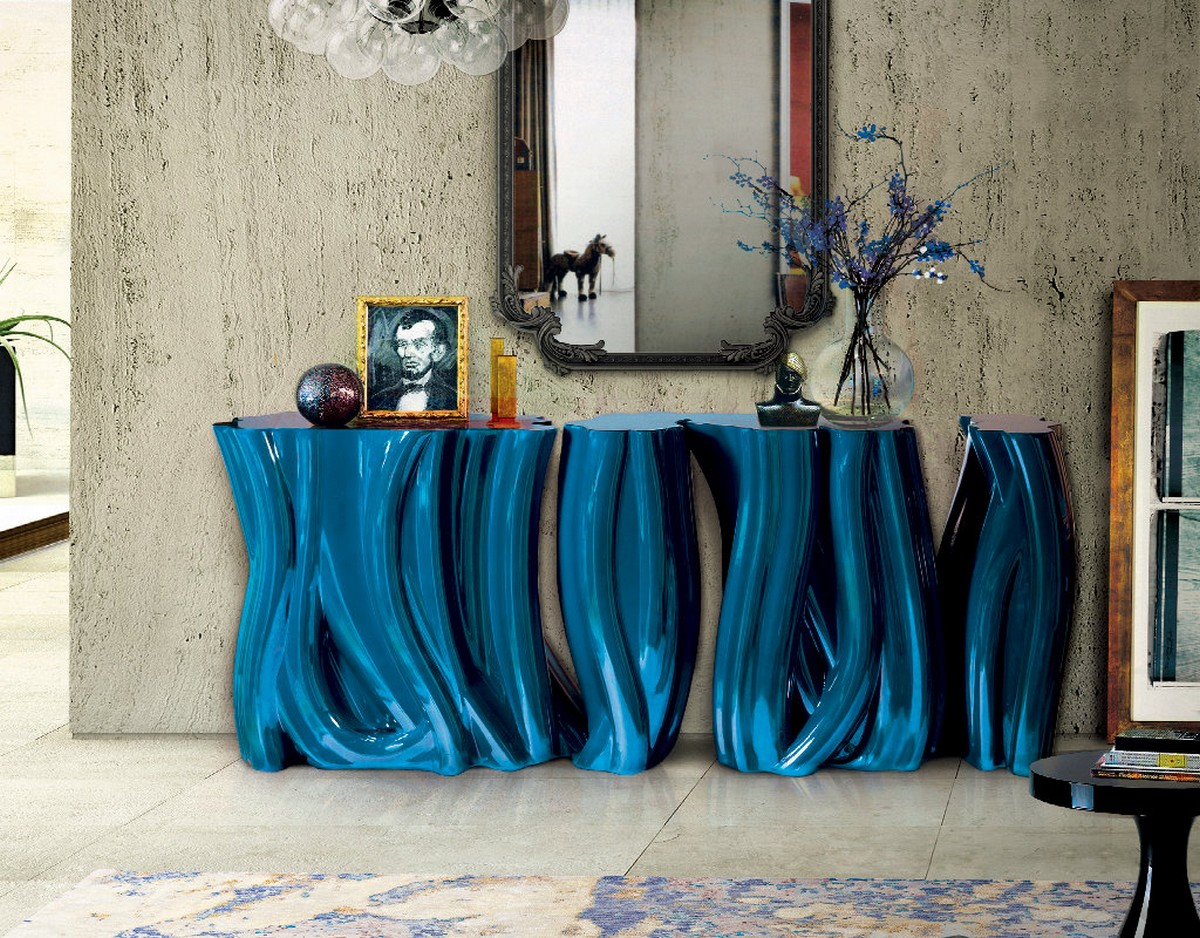 Covet House: Top Console Tables at Salone del Mobile Milano