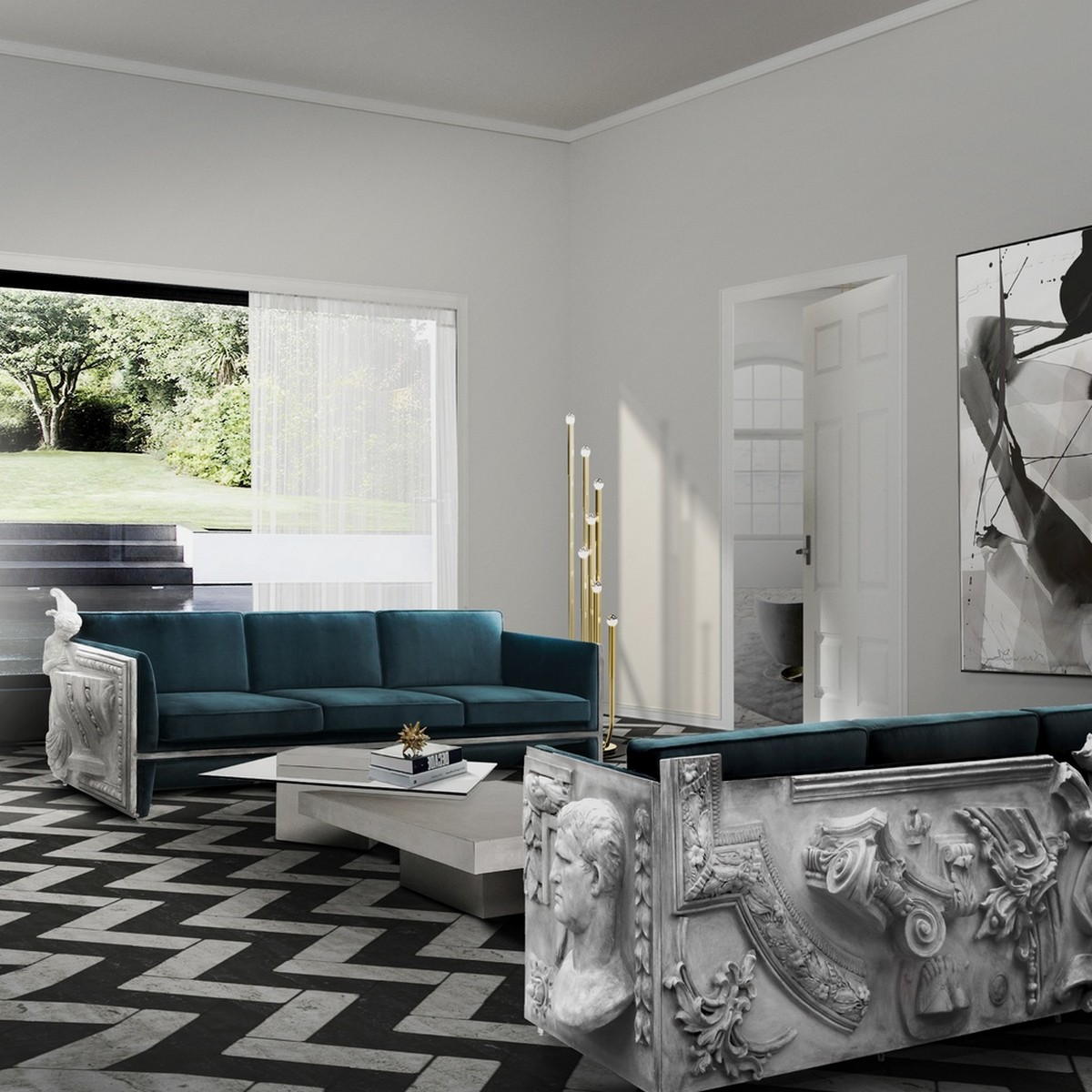 Covet House: Top Modern Sofas at Salone del Mobile Milano