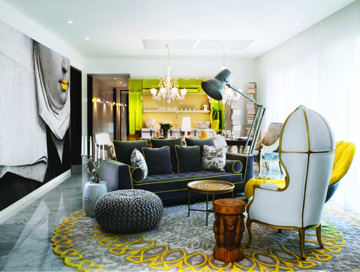 Living Room Projects by Philippe Starck