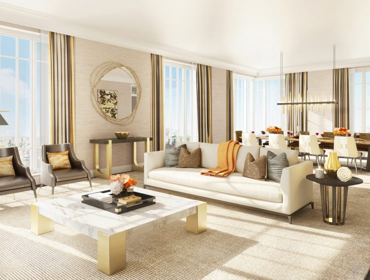 Insightful Living Room Projects by Alexandra Champalimaud