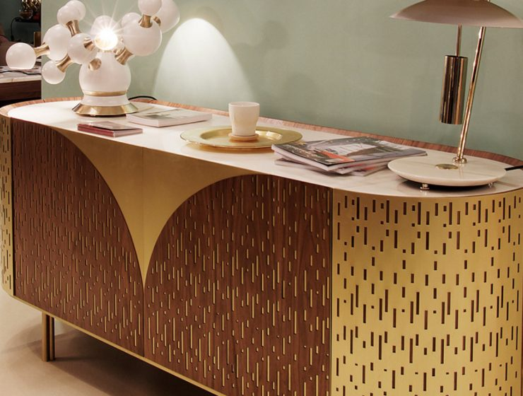 Art Deco Retro Vibe: The Sideboards