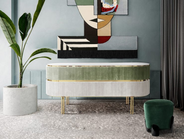 Colorful Sideboard Ideas For a Colorful Home Decor