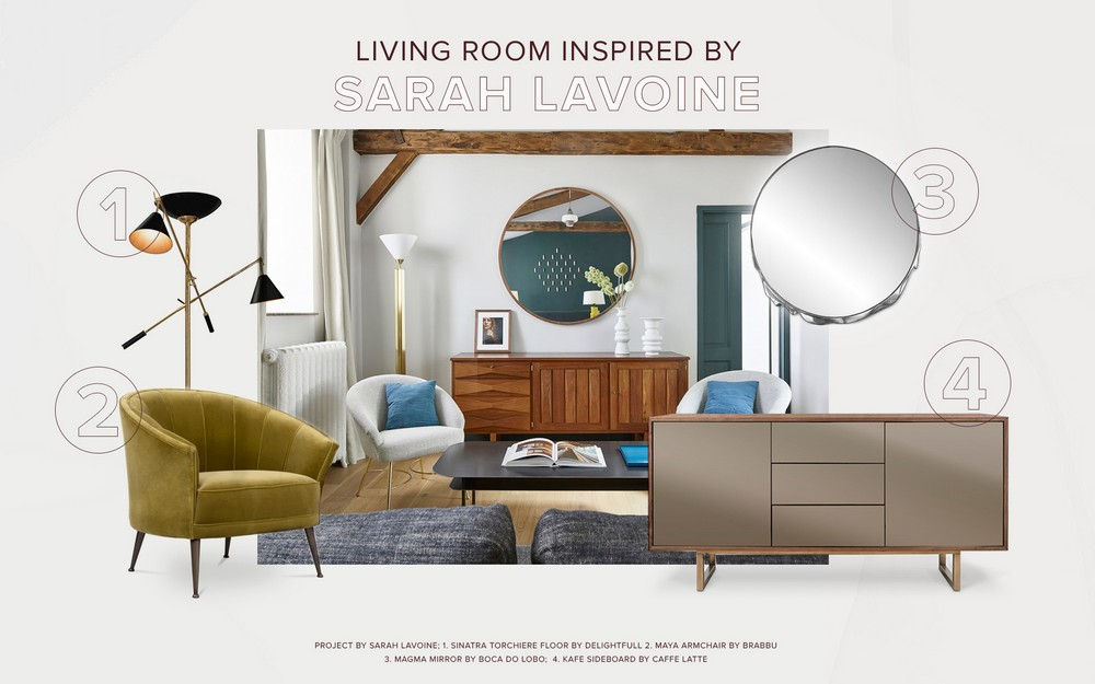 Living Room Design Inspired by Sarah Lavoine