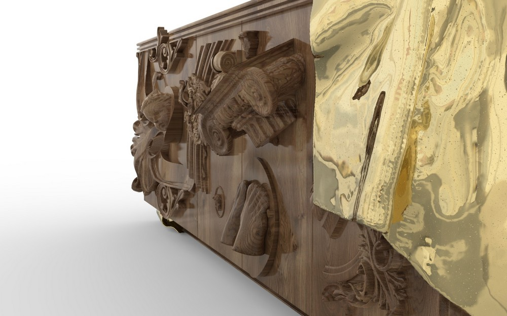 Masterpiece Sideboard: Discover Boca do Lobo's New Art Furniture Piece
