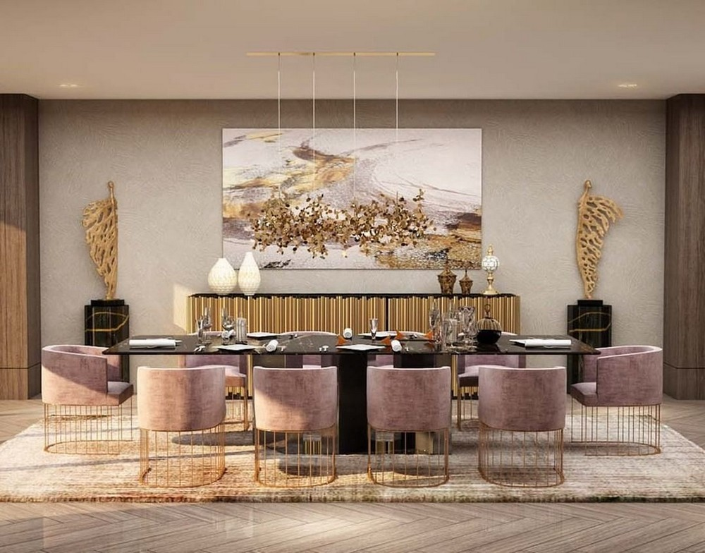 Stunning and Modern Sideboards To Revamp Your Dining Room's Design modern sideboards Trendy and Modern Sideboards For Your Luxury Dining Room symphny