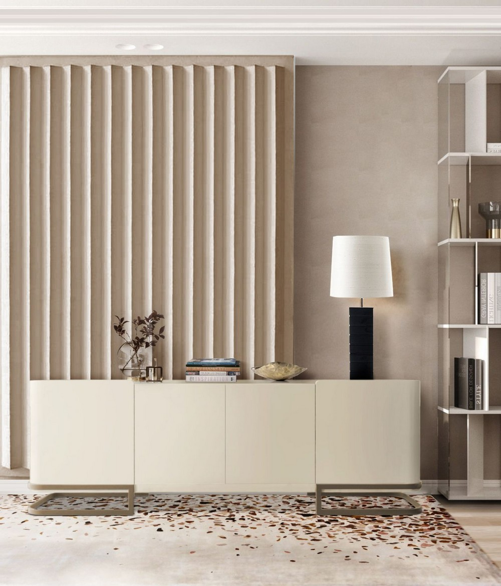 Soft-colored Furniture For a Luxuriously Clean Interior Design