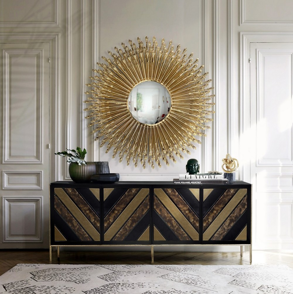 Contemporary Art Deco Furniture With a Hint of Art and Glamour