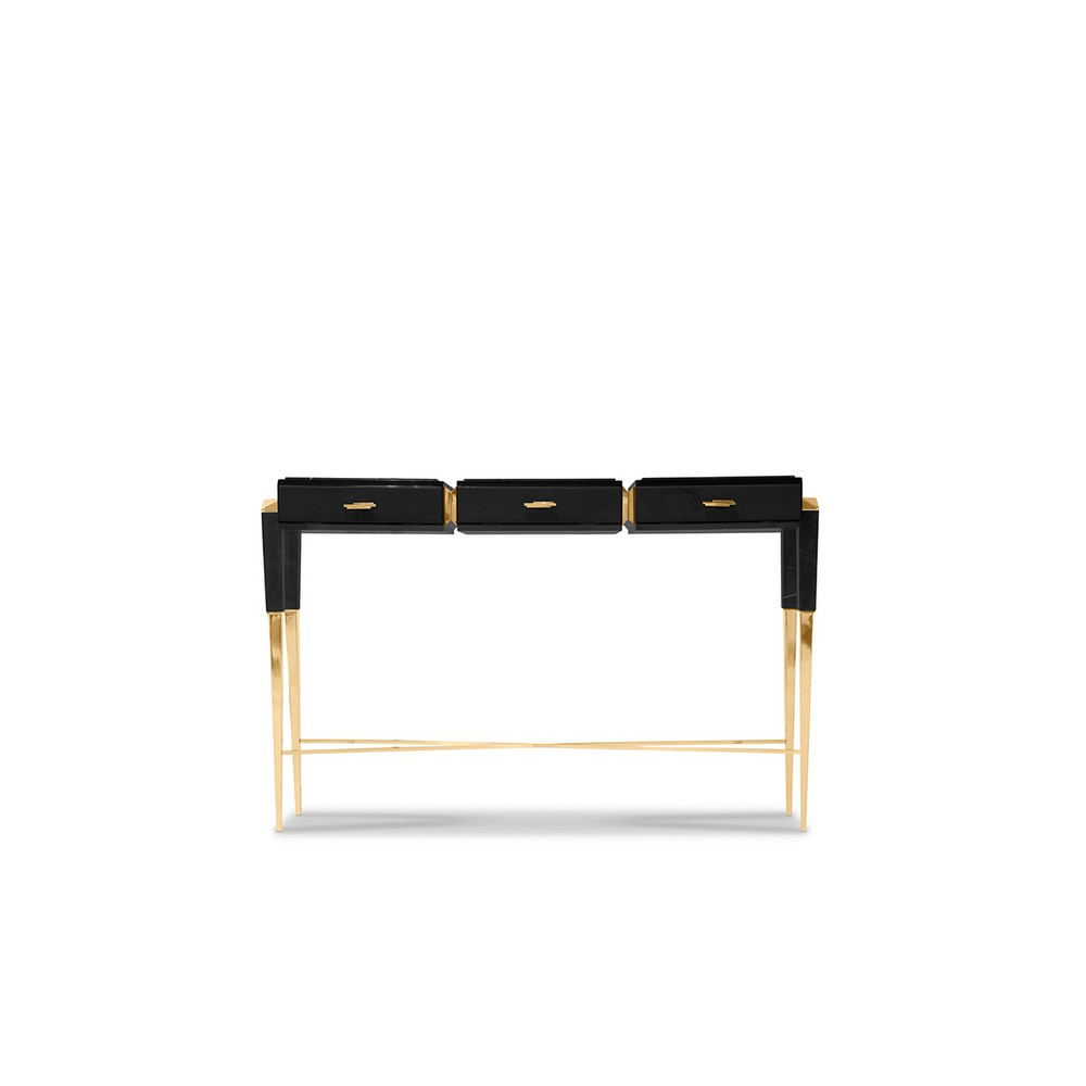 From Classic To Contemporary: 7 Luxury Console Tables For Every Taste