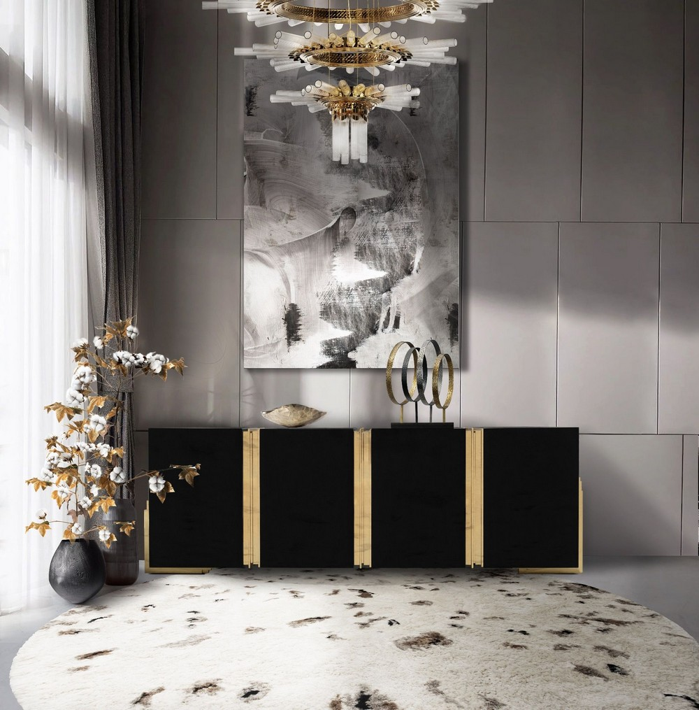 7 Luxury Rugs That Will Bring Verve To Your Living Room Sideboard