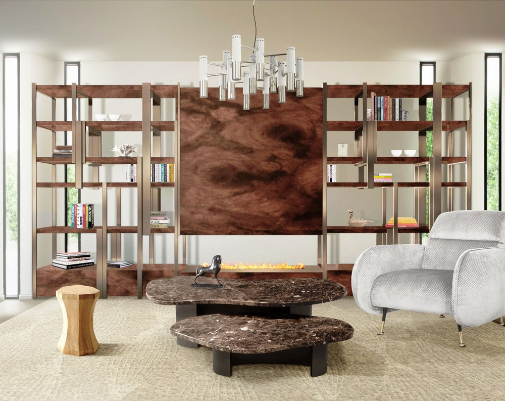 5 Luxury Bookcases That Will Upscale Your Home Design