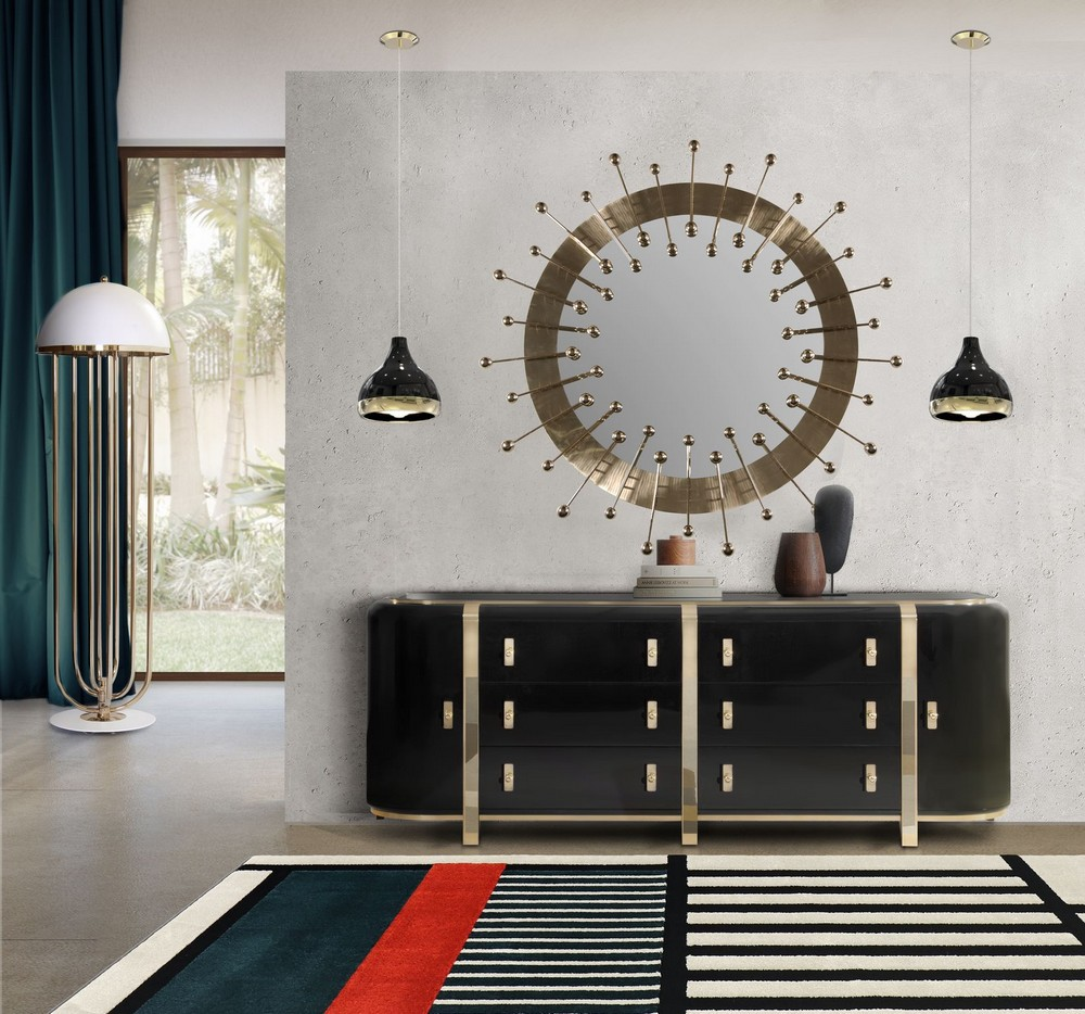 7 Beautiful Mirrors To Match Your Luxury Sideboard