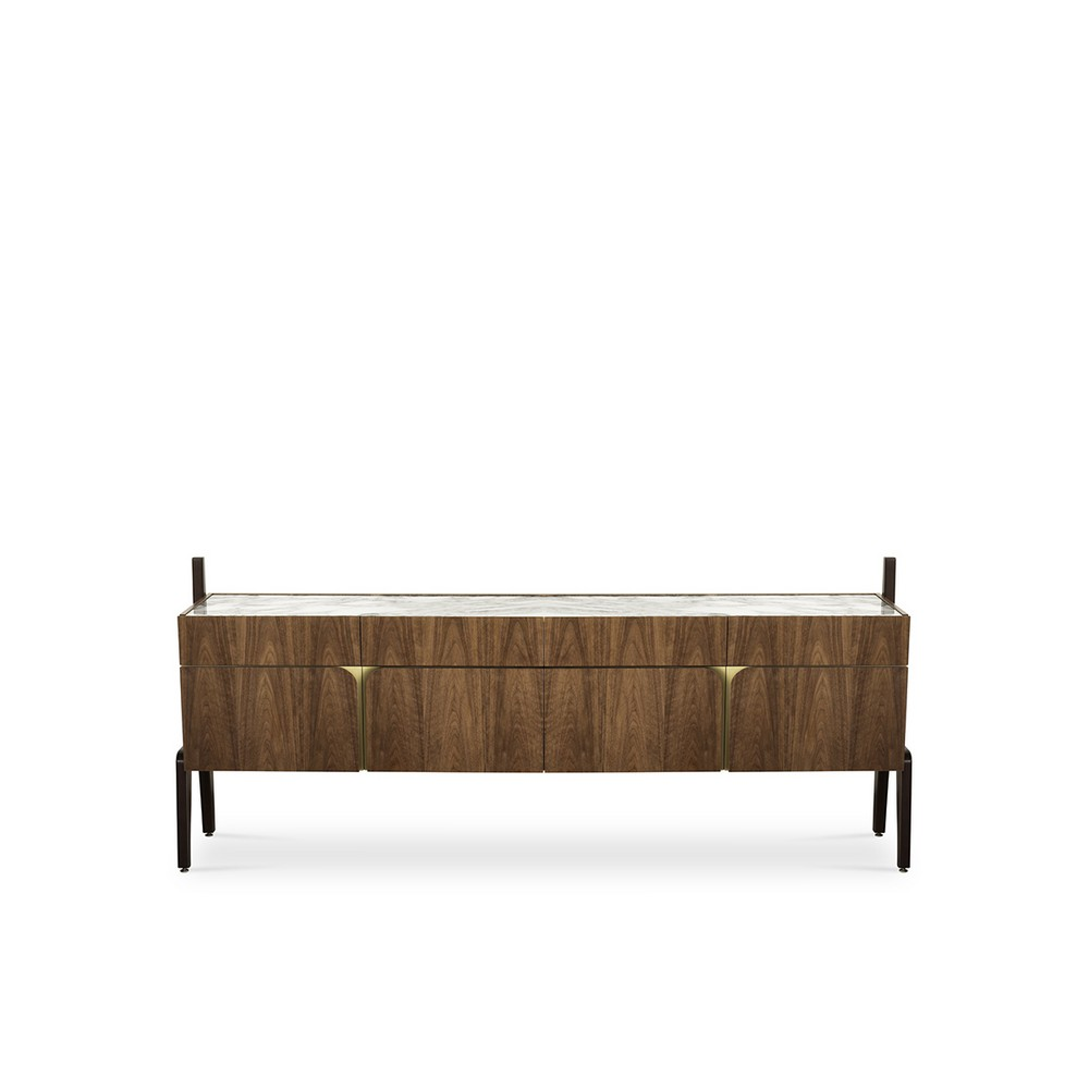 Time Traveling Design: Mid-century Credenzas with a Contemporary Twist