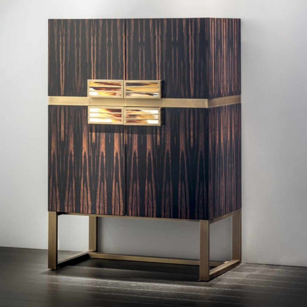 Luxury Design: 10 Bar Cabinets That Will Make You Stay At Home