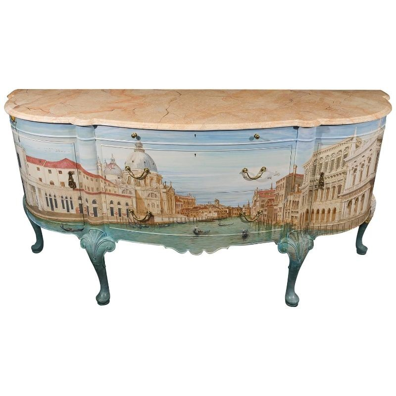 Luxury Sideboards and Cabinets Inspired by History and Art