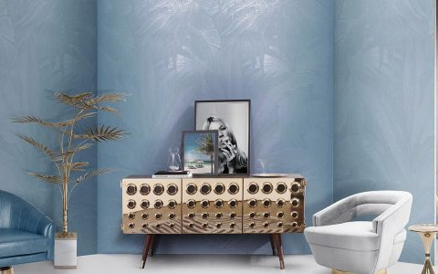 Mellow Color Metallics: The Sideboards