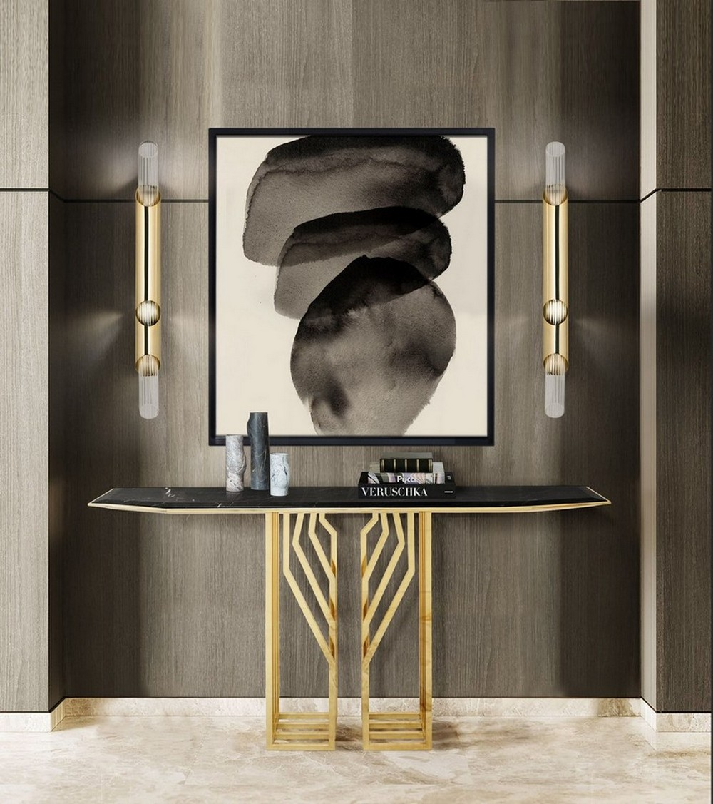 Striking Console Tables To Style Your Luxury Entryway