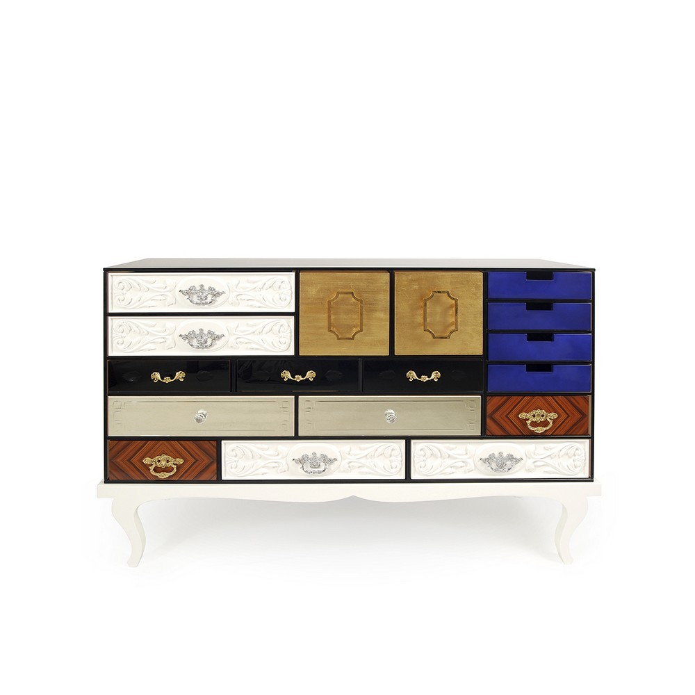 A Tale of Luxe Livability: 25 Sideboard Ideas For You