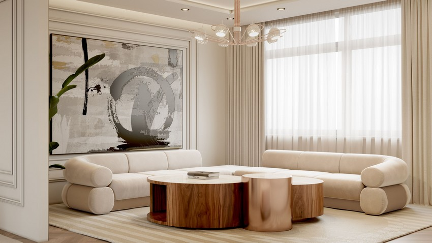 Discover The Master Bedroom Of This Contemporary Modern Penthouse