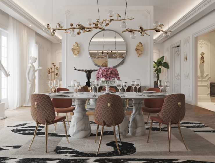 Searching For Inspiration? Here Are Our Favorite Luxury Dining Rooms