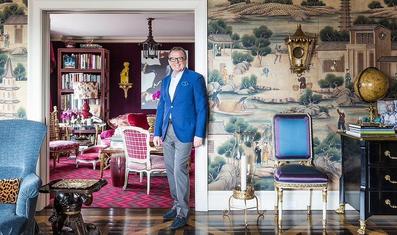 A Design Tastemaker: The Incredible Interiors by Alex Papachristidis