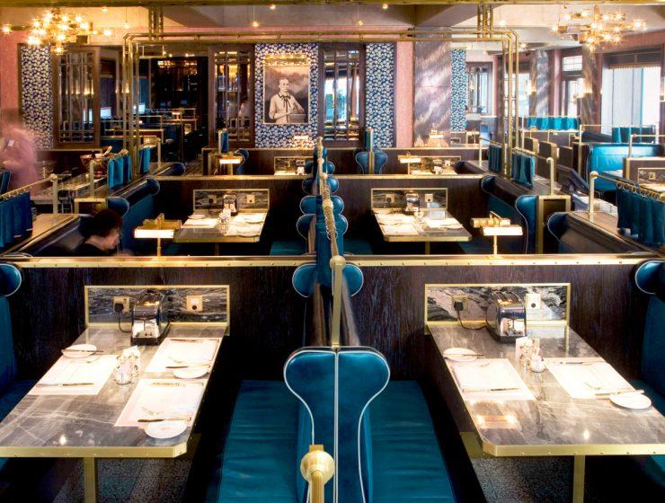 The Zenith of Luxury Restaurants With David Collins Studio
